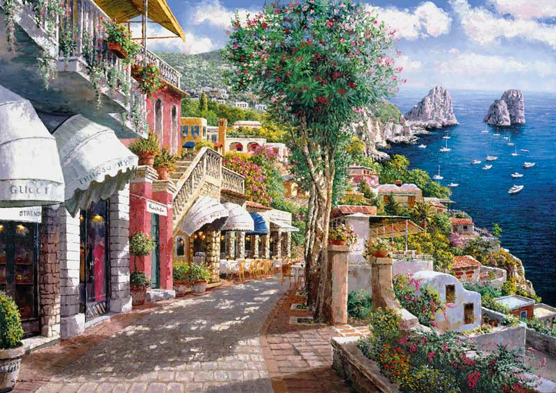 Capri - Scratch and Dent Thanksgiving Jigsaw Puzzle