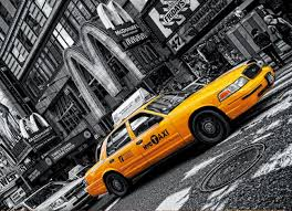 New York Taxi - Scratch and Dent Cars Jigsaw Puzzle