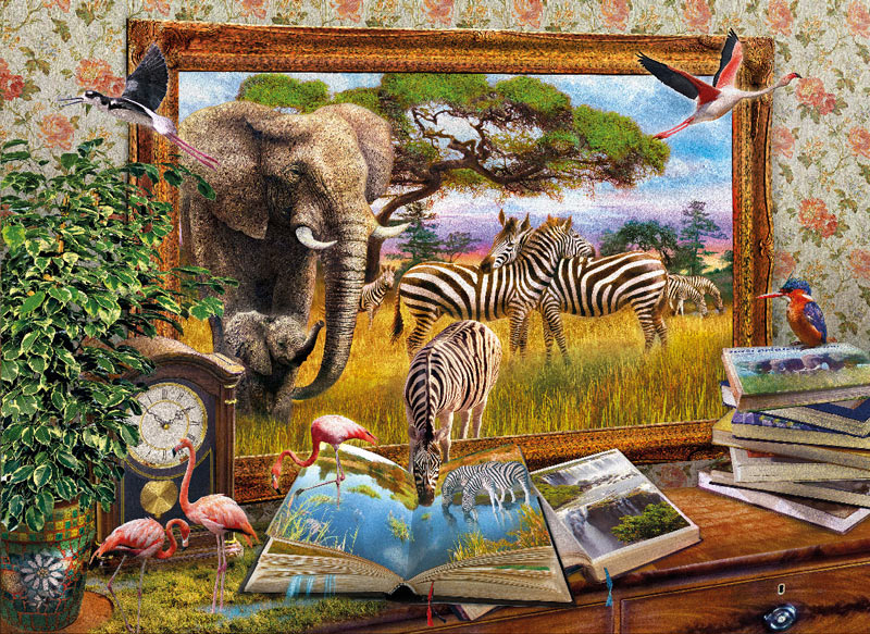 Come to Life Fantasy Jigsaw Puzzle