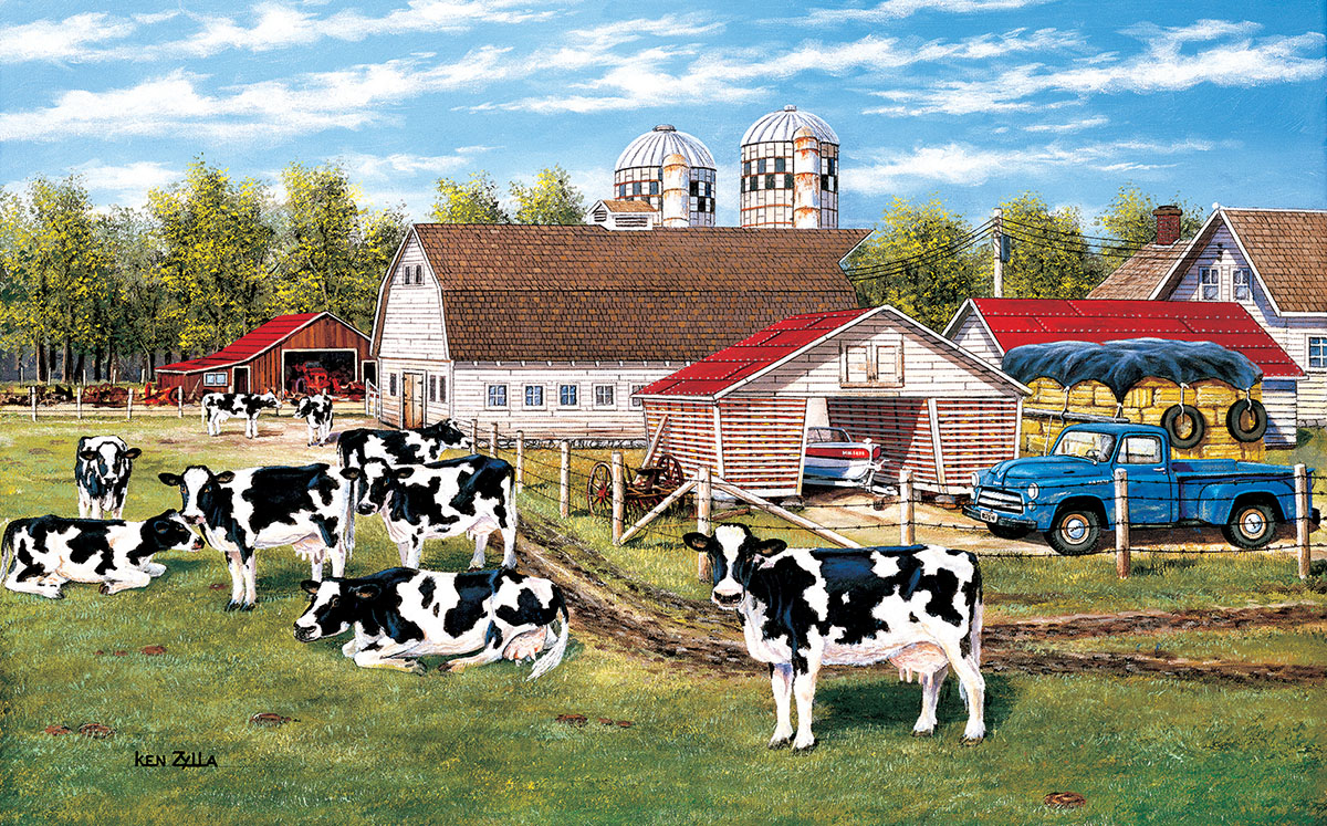 The Home Place Farm Jigsaw Puzzle