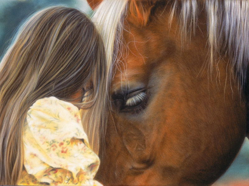 In their own world Horses Jigsaw Puzzle