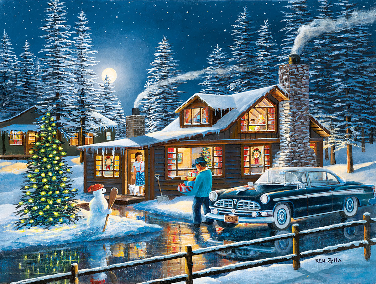 1000 Piece Christmas Jigsaw Puzzles