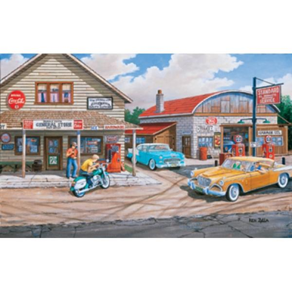 Popple Creek Store Coca Cola Jigsaw Puzzle