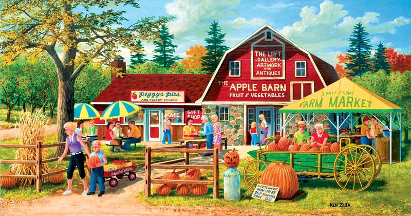 Harvest Market - Scratch and Dent Countryside Jigsaw Puzzle