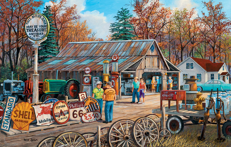 Signs of the Times Countryside Jigsaw Puzzle