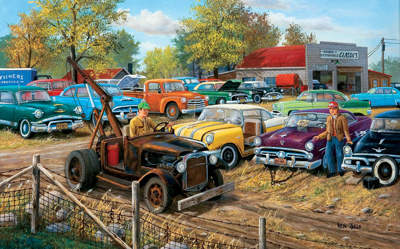 Sold As Is Cars Jigsaw Puzzle