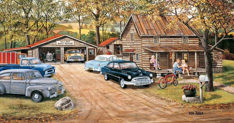 The Chaperone Cars Jigsaw Puzzle