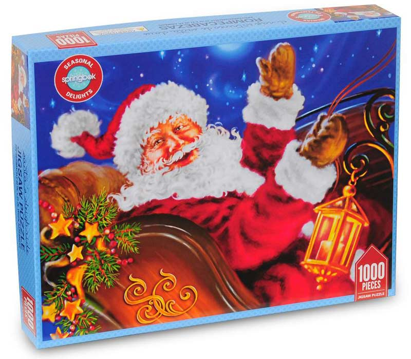 Delights - Santa's Sleigh Ride Christmas Jigsaw Puzzle