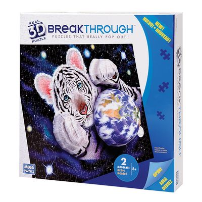 Real 3D Breakthrough - A Hug For Mother Space 3D Puzzle