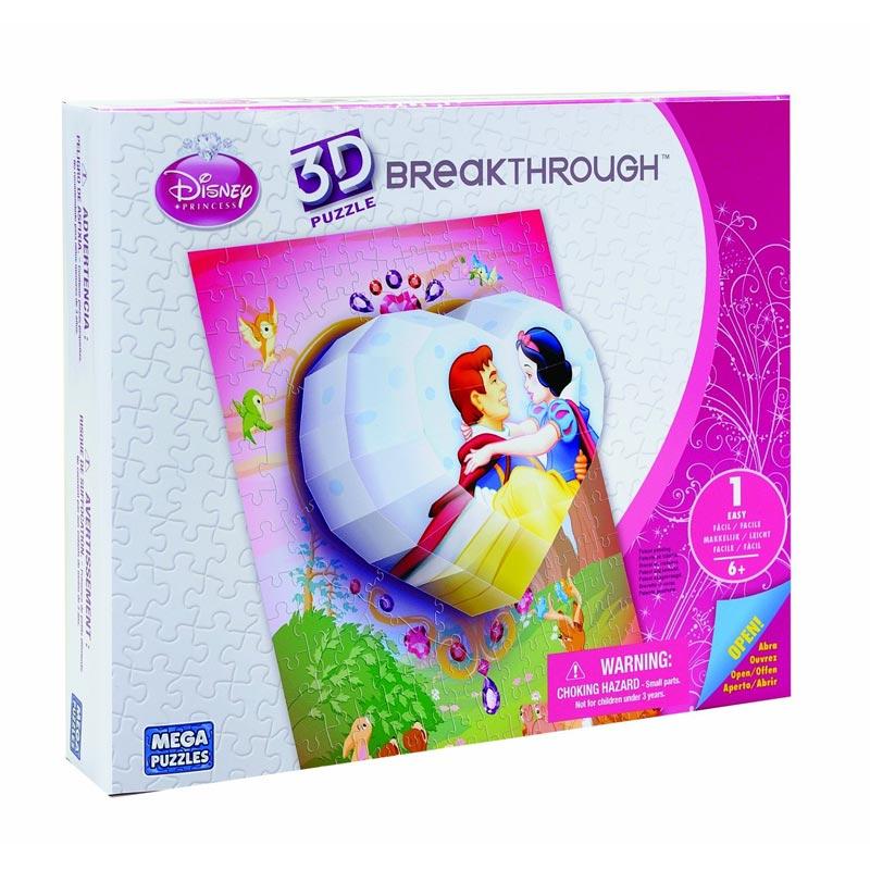 Real 3D Breakthrough - Princess Heart Disney 3D Puzzle