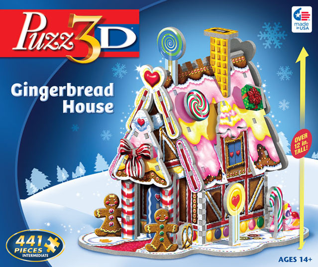 Gingerbread House - 3D Puzzle Christmas 3D Puzzle