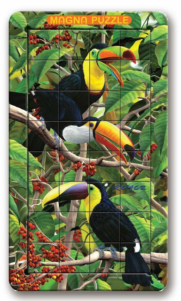 Toucan Birds Lenticular Puzzle