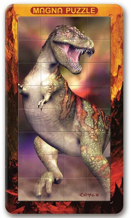 T-Rex Lenticular Puzzle