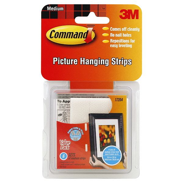 3m Picture Hanging Strips Puzzlewarehouse Com