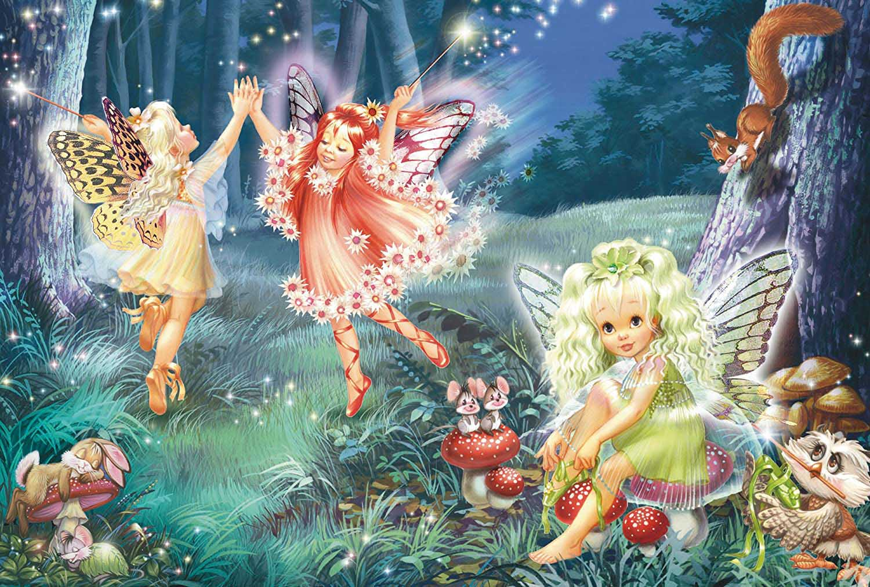 Fairy Dance Fantasy Jigsaw Puzzle