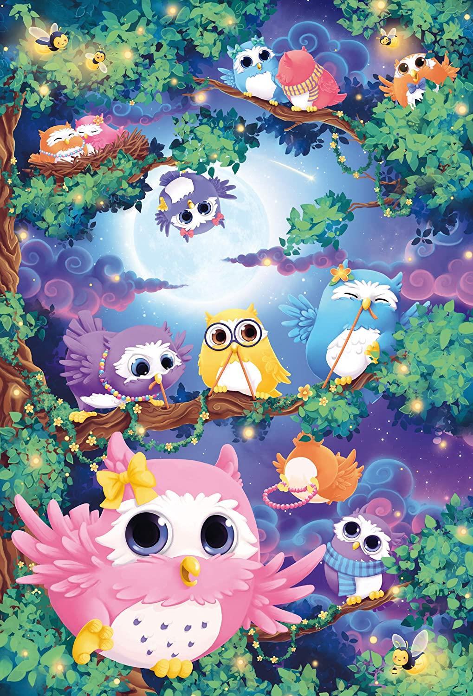 Owl Woods Birds Jigsaw Puzzle