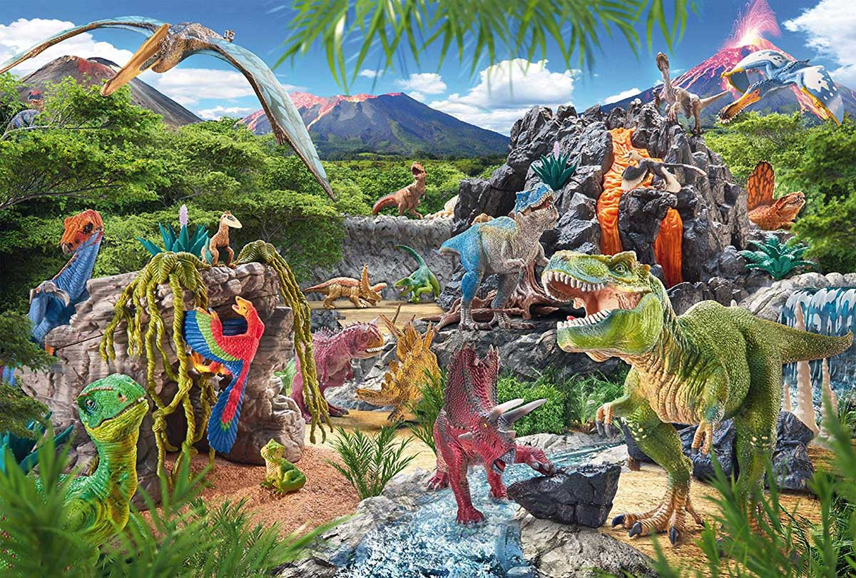 Kingdom of the Dinosaurs Dinosaurs Jigsaw Puzzle