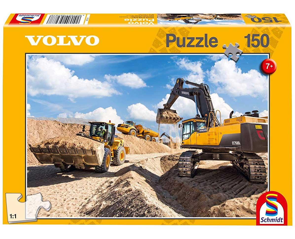 Volvo L120GZ, A40F, EC750D Vehicles Jigsaw Puzzle