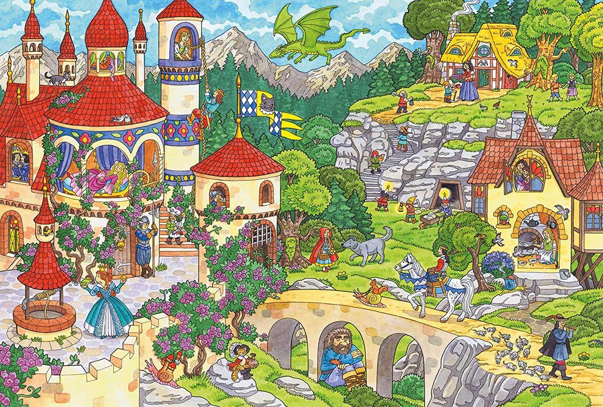 A Fairytale Kingdom Castles Jigsaw Puzzle