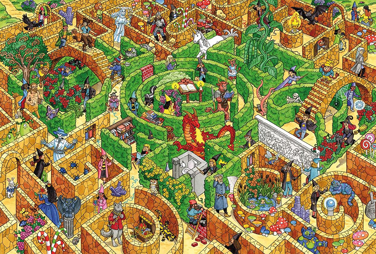 Labyrinth Fantasy Jigsaw Puzzle