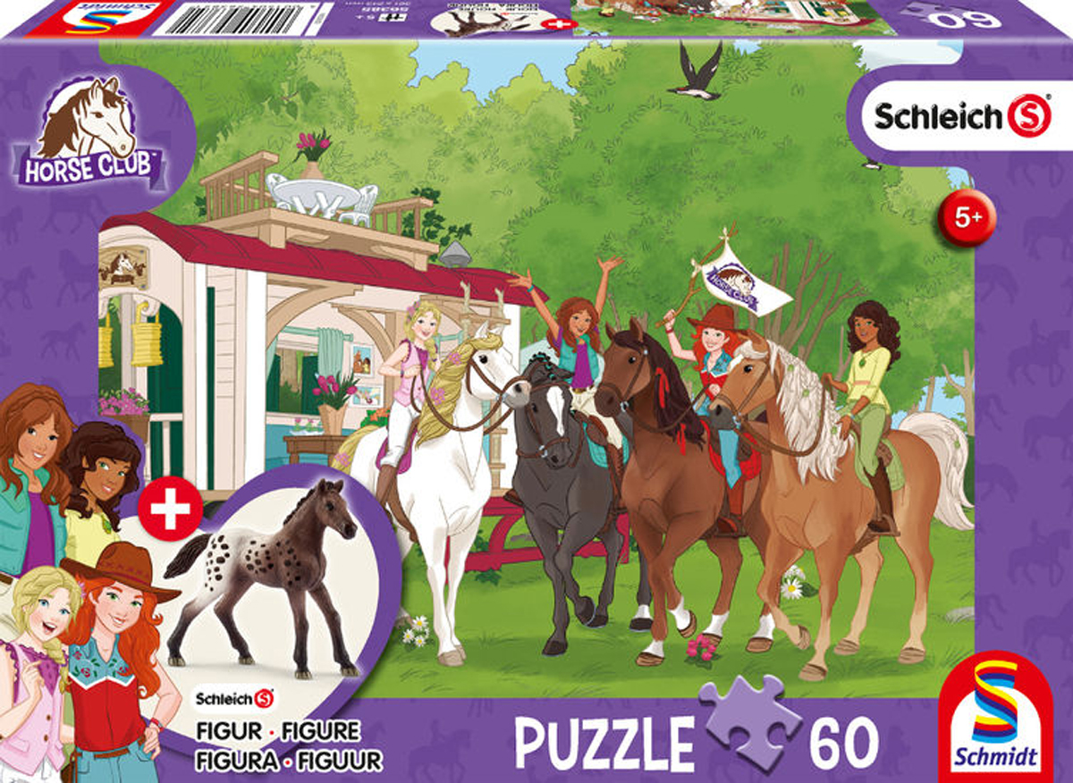 60 Club Meeting Horses Children's Puzzles