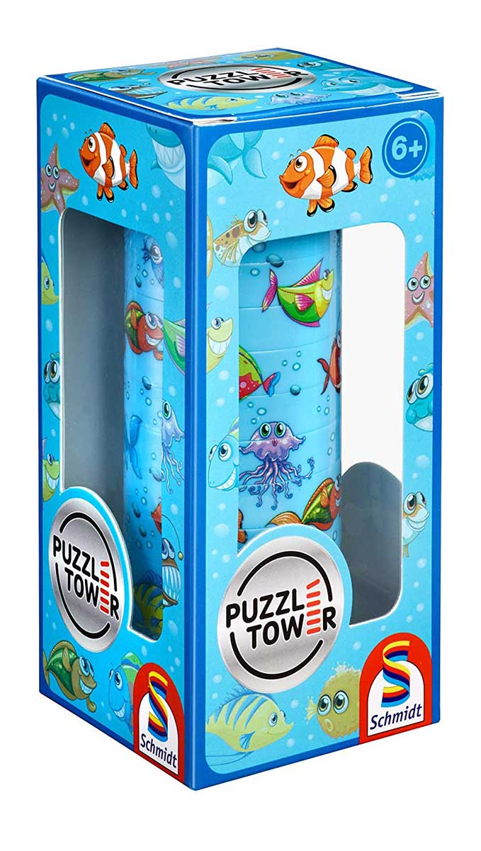 Puzzletower Waterworld Under The Sea