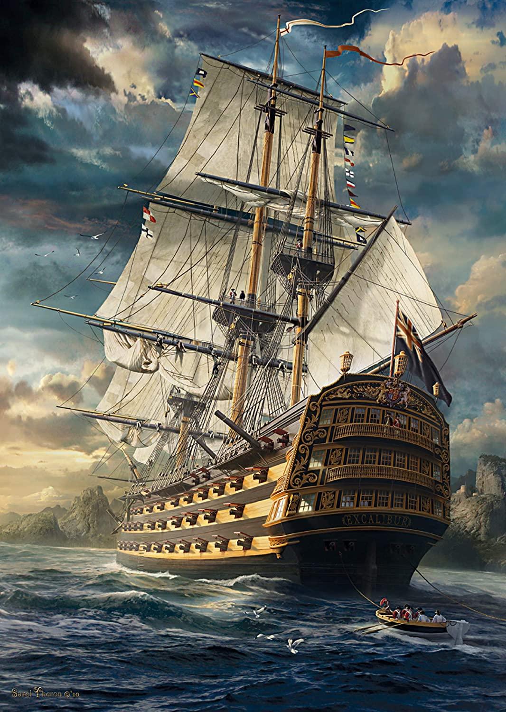 Sails Set Under The Sea Jigsaw Puzzle