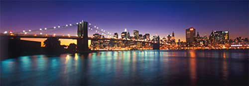 Lights Of New York New York Jigsaw Puzzle