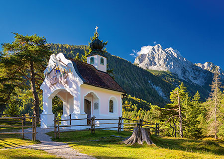 Bavarian Chapel Churches Jigsaw Puzzle