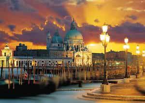 Santa Maria della Salute, Venice Italy Jigsaw Puzzle