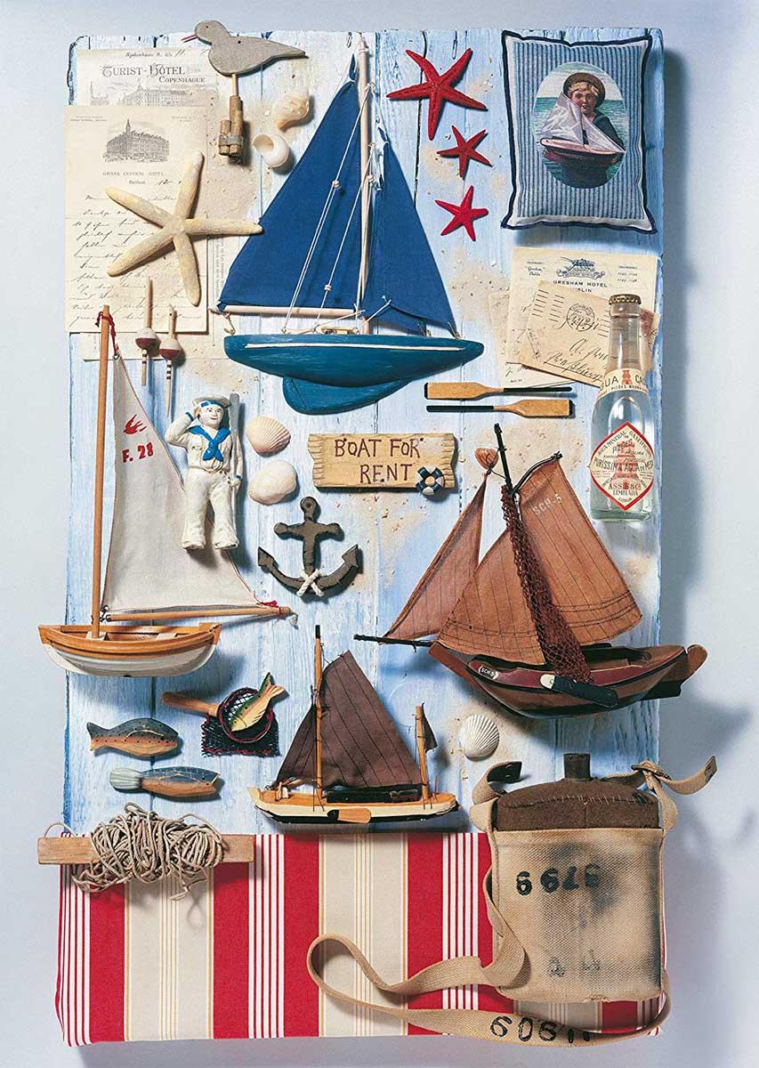 Maritime Potpourri Boats Jigsaw Puzzle