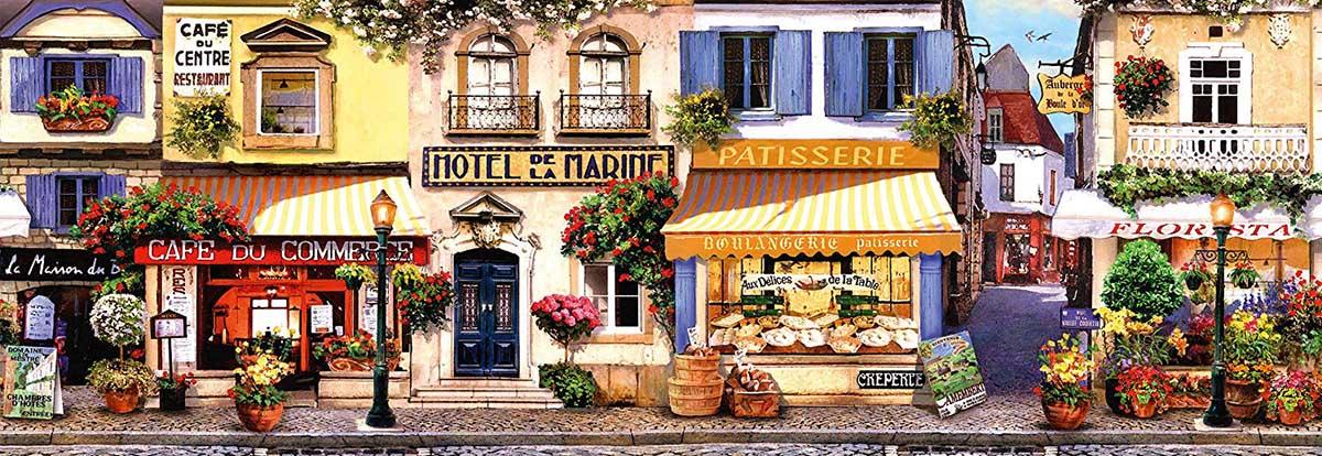 A stroll through paris France Jigsaw Puzzle