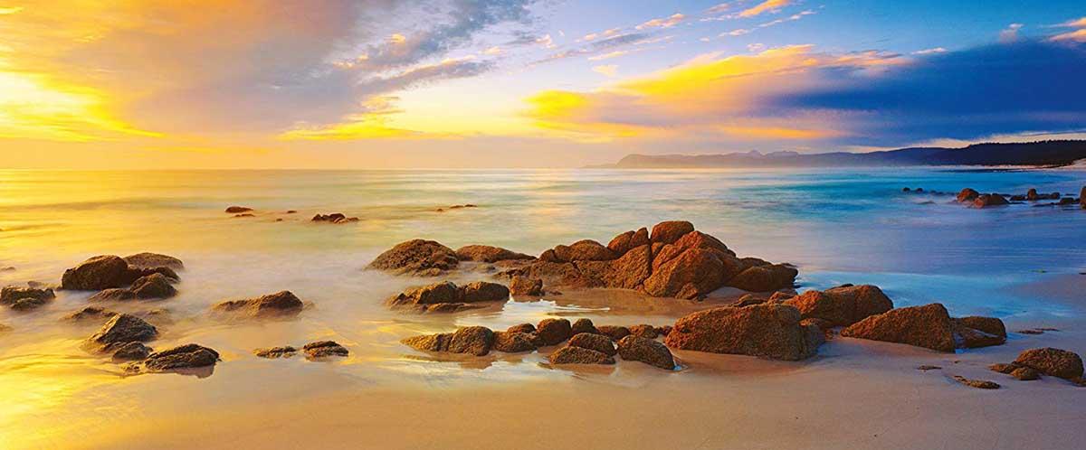 Friendly Beaches, Tasmania, Australia Beach Jigsaw Puzzle