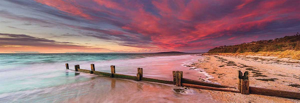 McCrae Beach, Mornington Peninsula Beach Jigsaw Puzzle