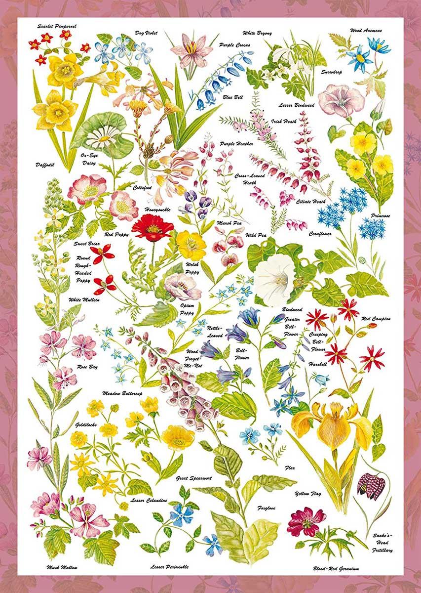 Wild Flowers Flowers Jigsaw Puzzle