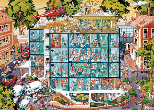 Emergency Room People Jigsaw Puzzle