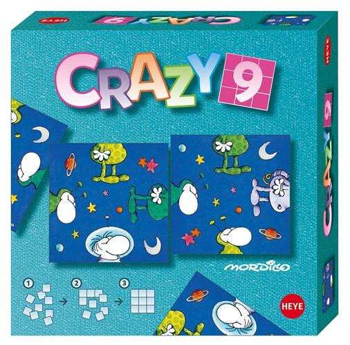 Crazy9 Mordillo In Space Space Non-Interlocking Puzzle