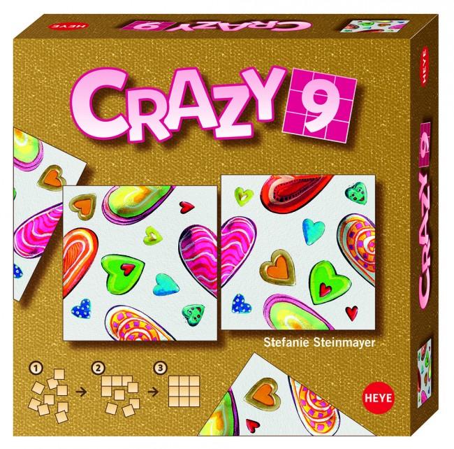 Crazy9 Steinmayer Hearts Non-Interlocking Puzzle