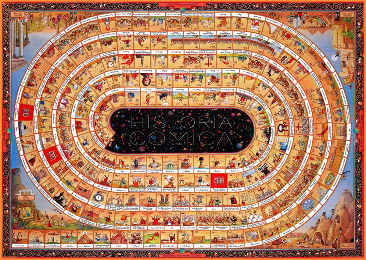 Historia Comica Opus 1 Cartoons Jigsaw Puzzle