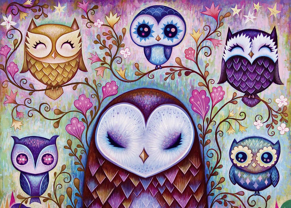 Great Big Owl Birds Jigsaw Puzzle