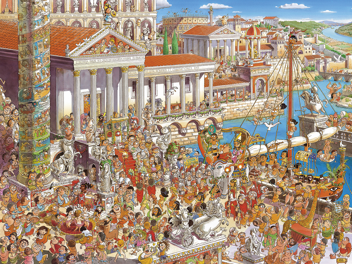 Ancient Rome People Jigsaw Puzzle