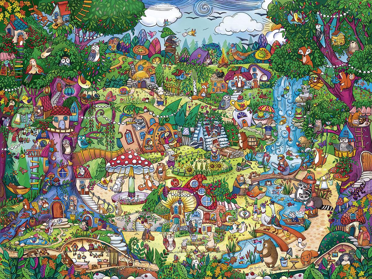 Wonderwoods Fantasy Jigsaw Puzzle