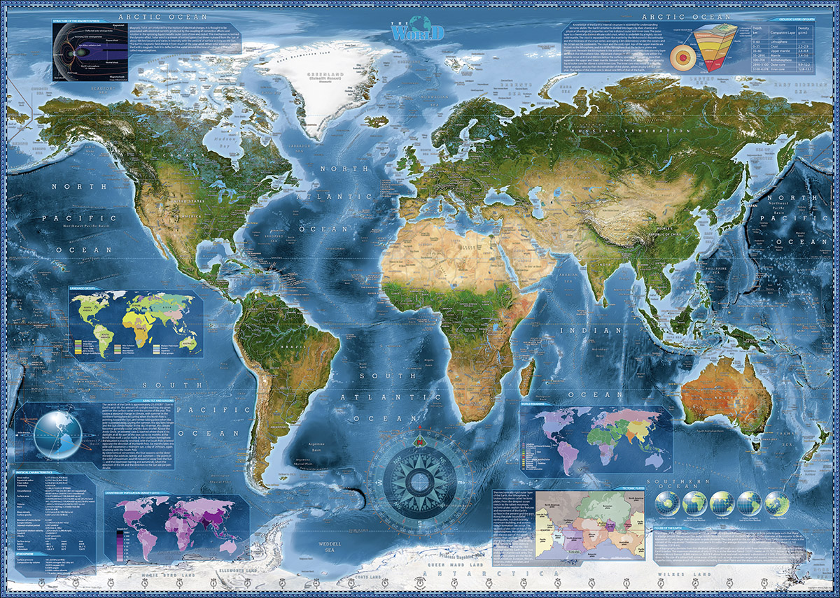Satellite map jigsaw puzzle puzzlewarehouse satellite map gumiabroncs Images