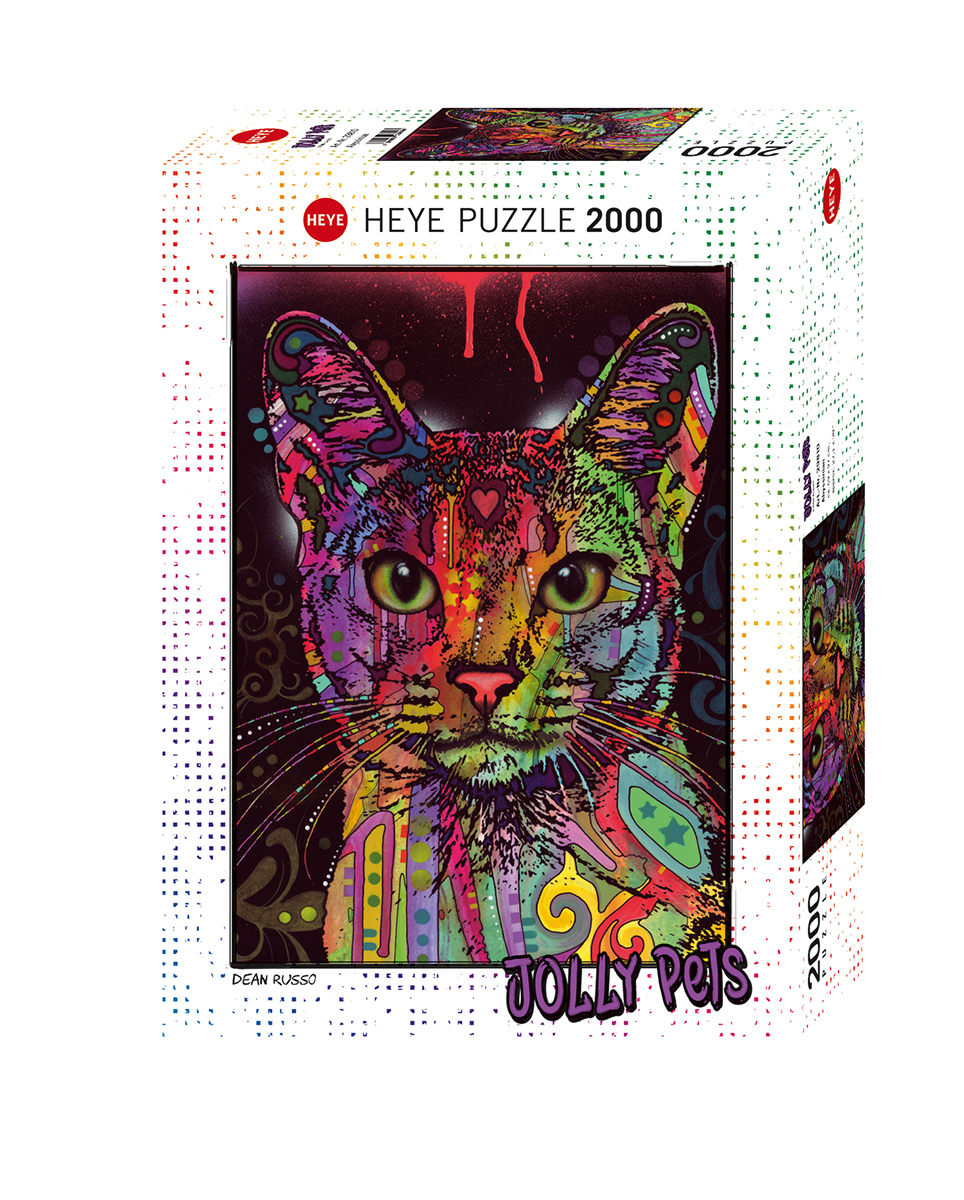 Abyssinian Cats Jigsaw Puzzle