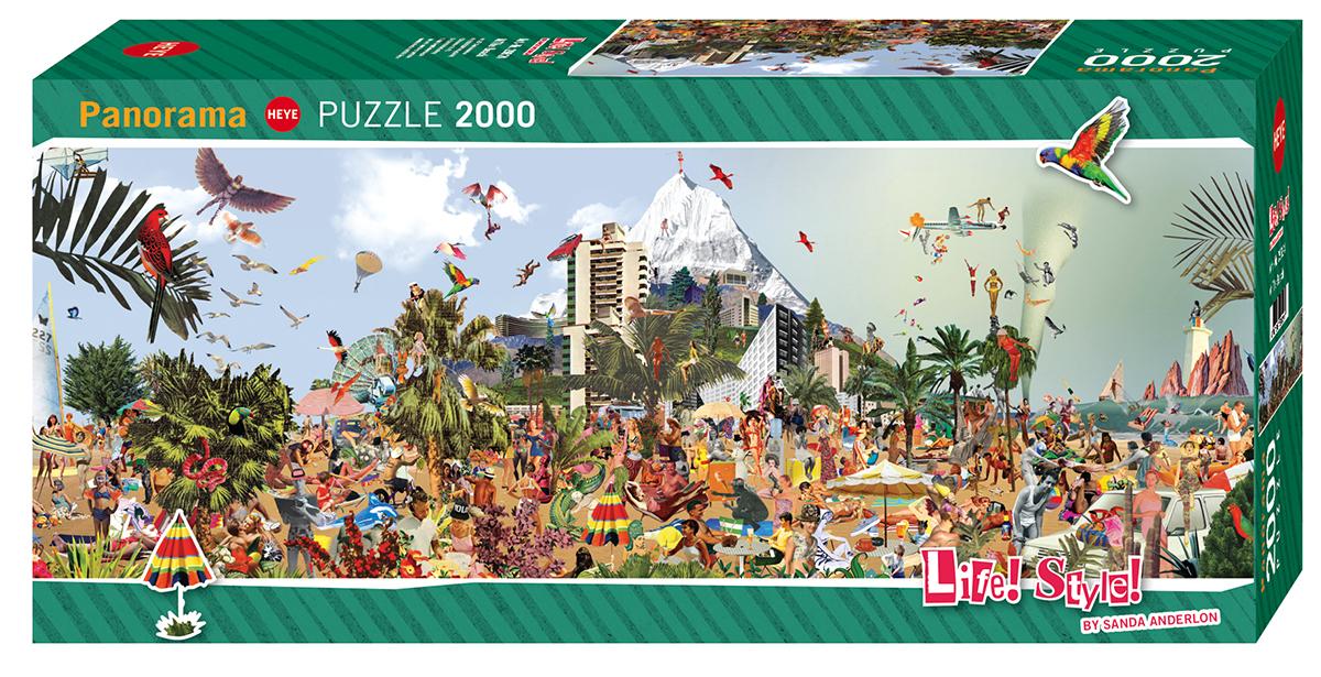 At The Beach Beach Jigsaw Puzzle