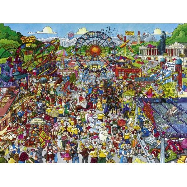Oktoberfest Cartoons Jigsaw Puzzle