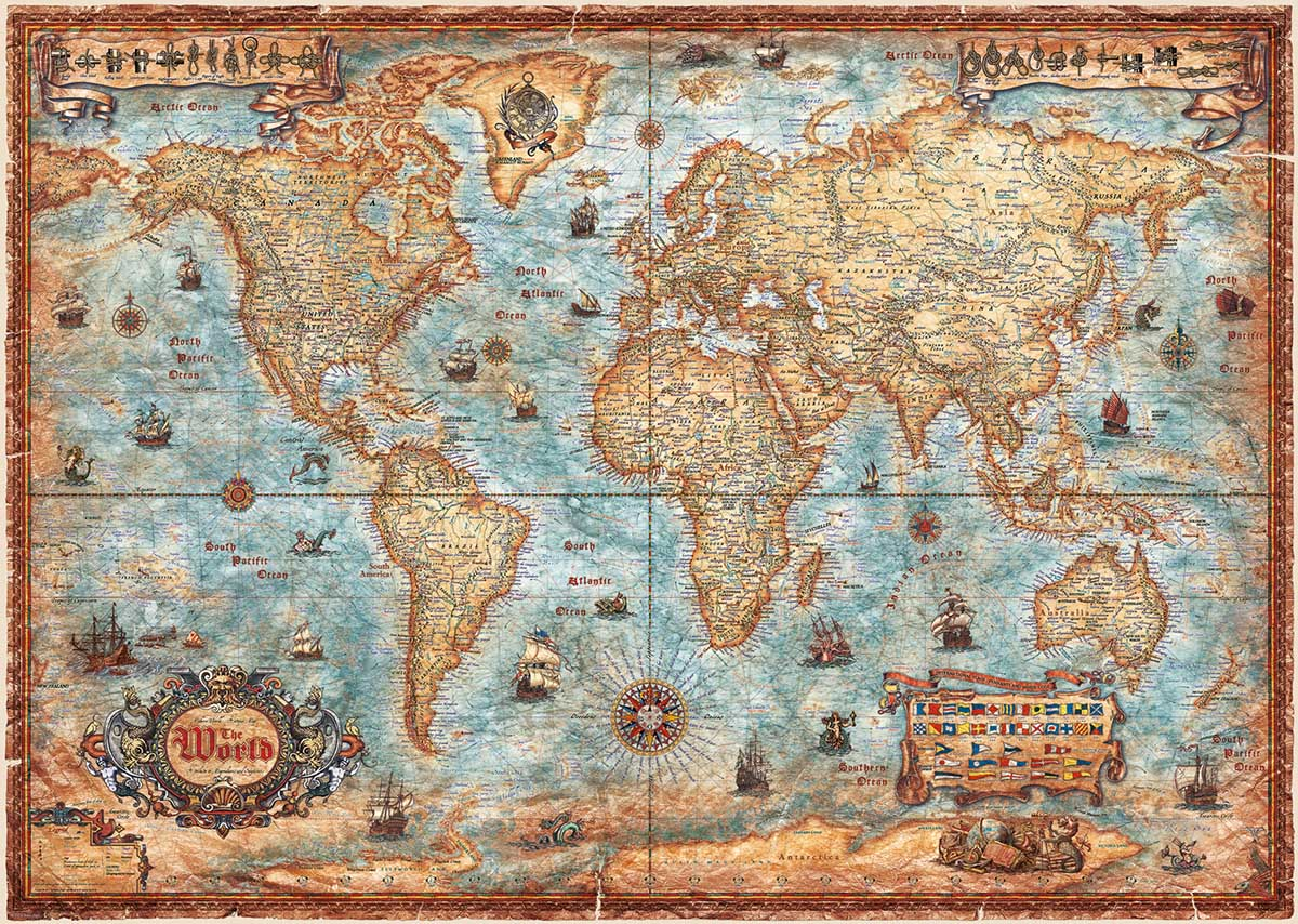 The World Maps / Geography Jigsaw Puzzle