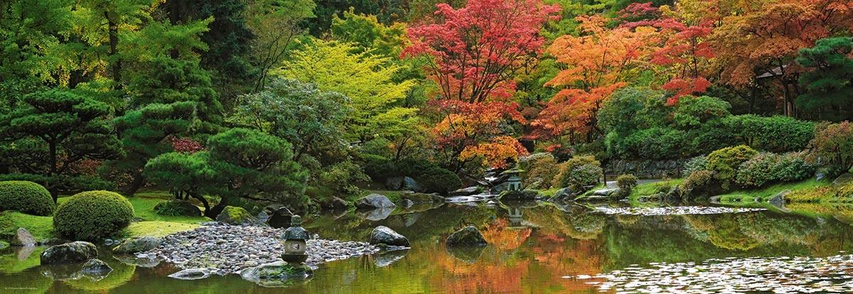 Zen Reflection Garden Jigsaw Puzzle