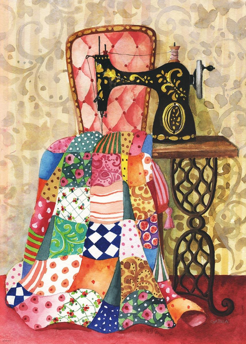 Quilt Crafts & Textile Arts Jigsaw Puzzle