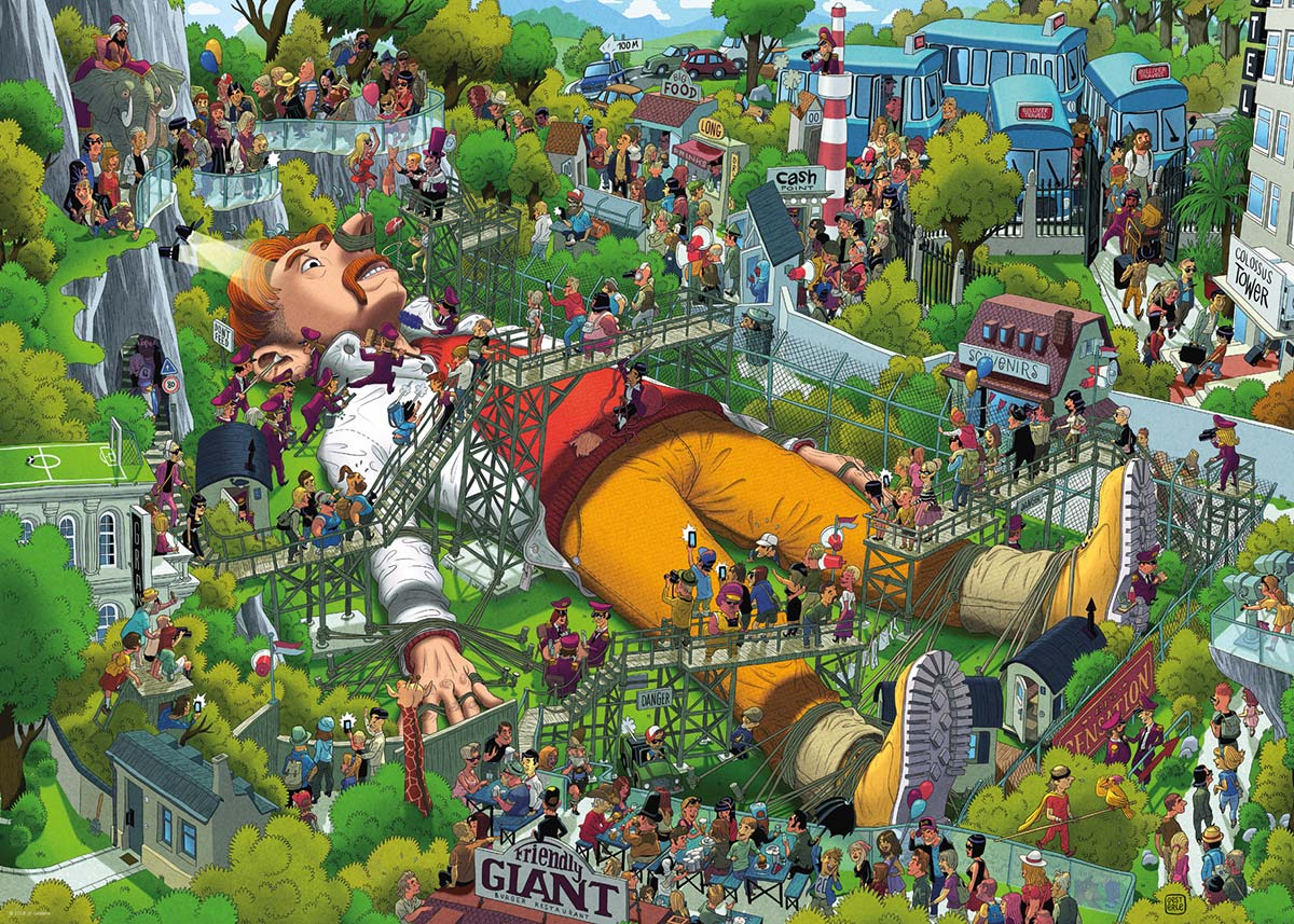 Gulliver Cartoons Jigsaw Puzzle
